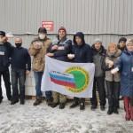 Члены Профсоюза УМВД, ГИБДД, ПСС разгрузили 700 кг шоколада-1