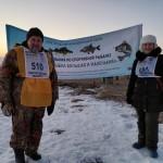 Соревнование по подледному лову  НООП и ППО АДм Новгородского